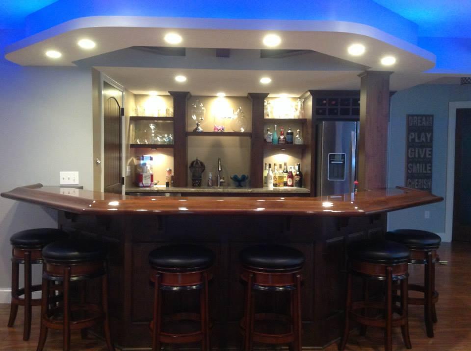 Custom Bar Design & Construction | MN Cabinet Shop