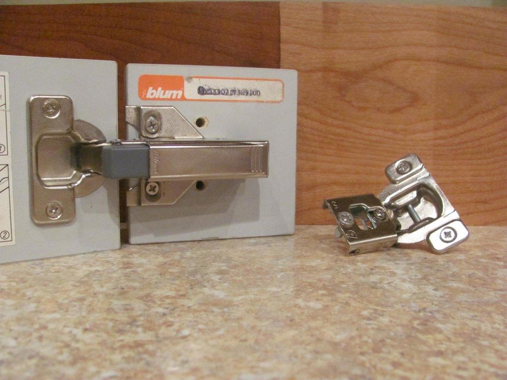 Adding New Hinges For A Spectacular Kitchen Update