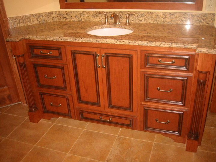 Why should i choose custom bathroom cabinets for Custom bathroom cabinets