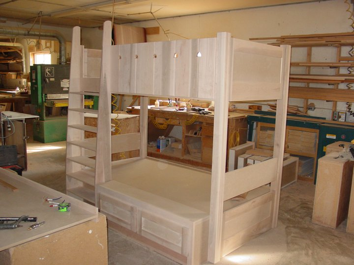 Custom Bunk Beds And Bedroom Furniture