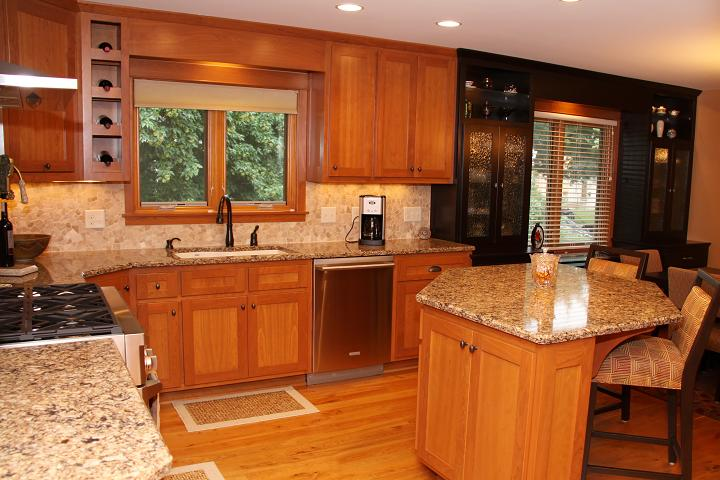 Custom cabinets and kitchen countertops mn for Custom kitchen remodel