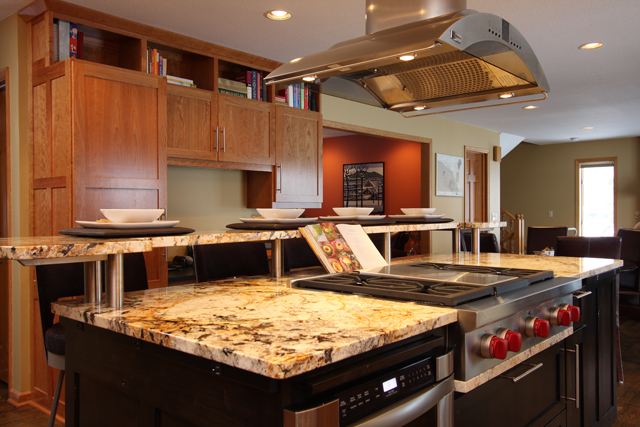 Kitchen Cabinet and Countertop Designs