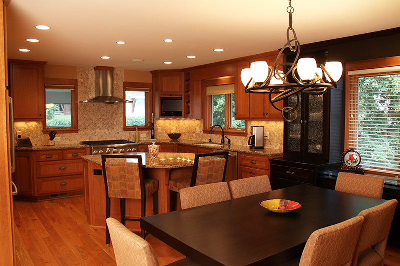 Mn custom kitchen cabinets and countertops custom for Custom kitchen remodel