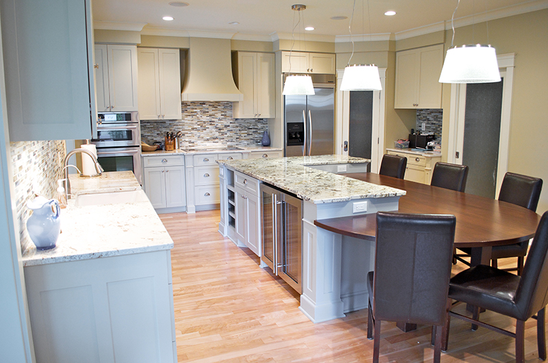 Paint Grade Kitchen Cabinets