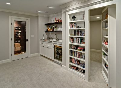 Adding Custom Storage Cabinets