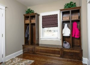 Affordable Mudroom Organized Custom Cabinets MN