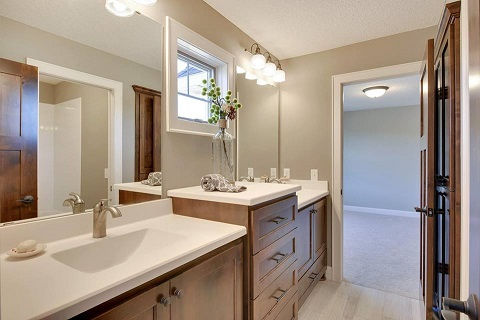 Custom Remodeling Projects - Bathroom Vanity Replacement