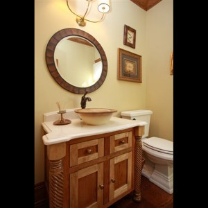advantages of a custom bathroom vanity in an old minneapolis mn home