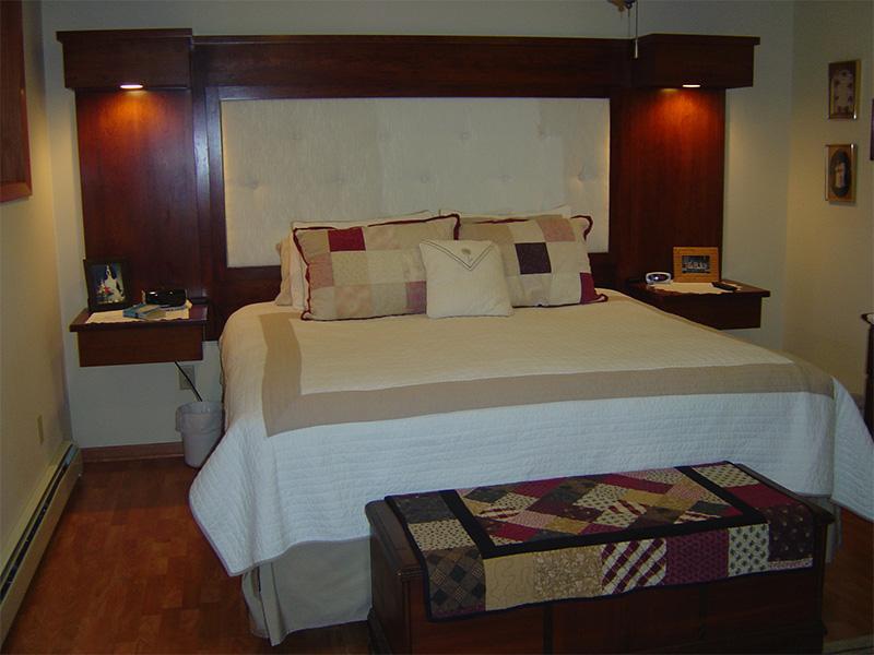 Custom Built-in Bedroom Storage Solutions