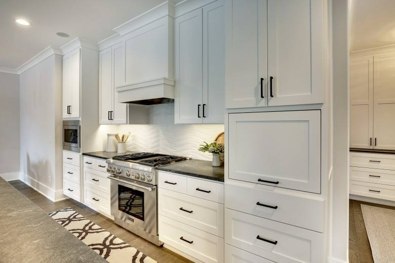 Custom Kitchen Cabinet Storage