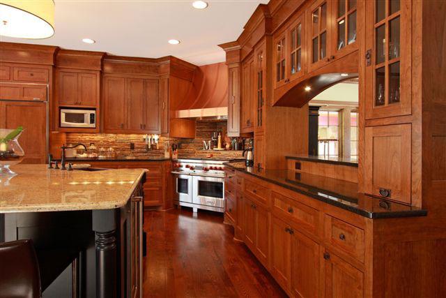 Dream Kitchen with Custom Kitchen Cabinets