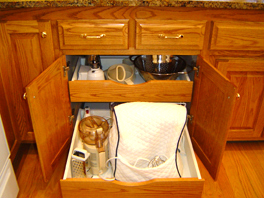 Kitchen Cabinet Organizer Ideas