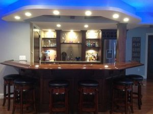 One Of A Kind Custom Built Bar