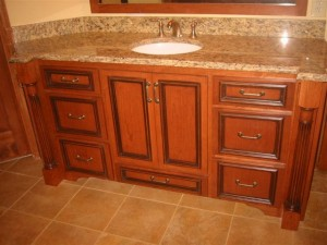 Custom Bathroom Vanity Cabinets Ham Lake, MN