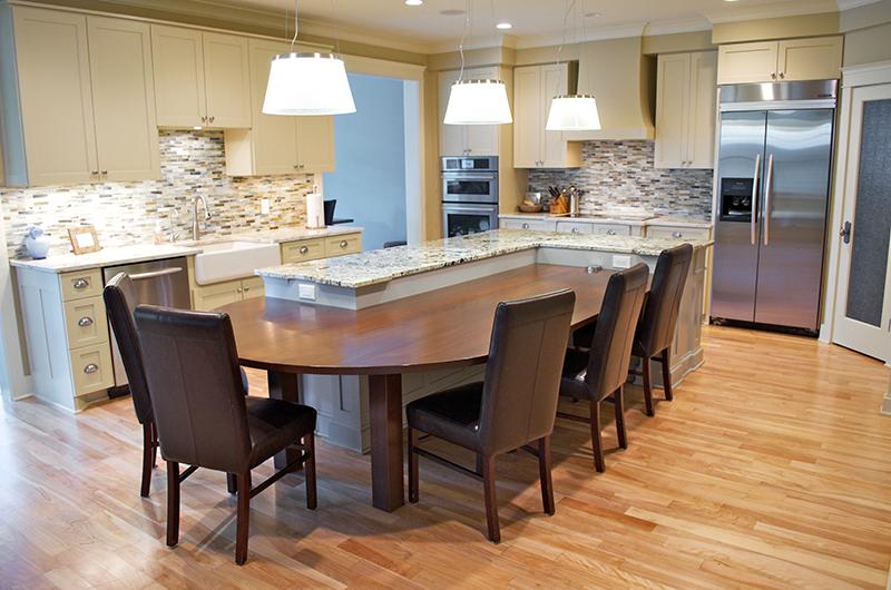 Elegant Paint Grade Kitchen Cabinets Edina MN 1 Zoom In · «