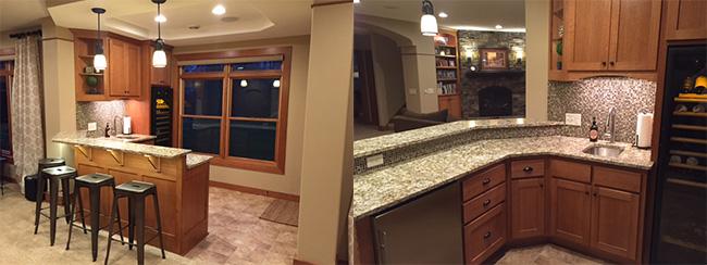 Custom Bar Cabinets 2015