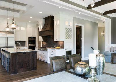 Custom Paint Grade Kitchen Cabinets